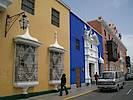 Erhabene Architektur und antike Bauwerke wie Chan Chan, Huaca de la Luna und der Komplex El Brujo