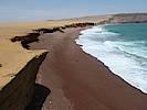 Zum Paracas Nationalpark gehören ebenfalls die Ballestas Inseln